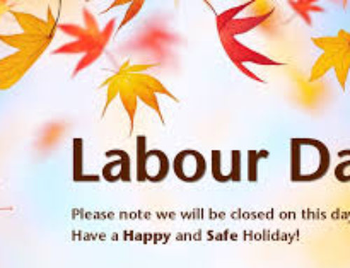 Labour Day School Weekend Closure