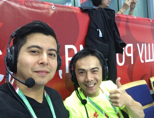 Sifu Alan Commentating for the 14th World Wushu Champions